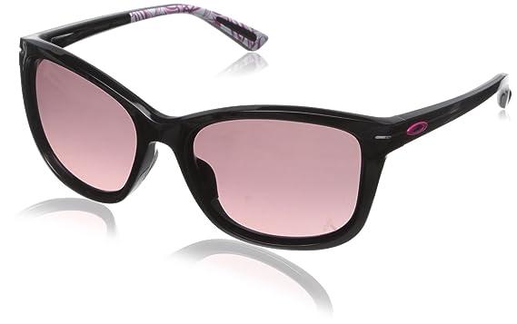 9de044417fdfc Oakley Womens YSC Drop In Sunglasses, Polished Black/G40 Black Gradient,  One Size