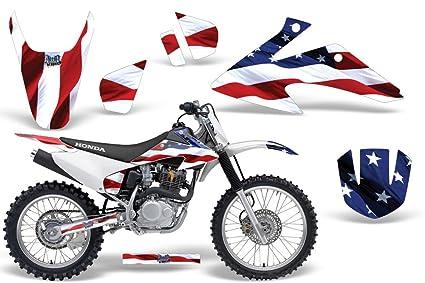 Amazon.com: 2008-2013 Honda CRF 150/230F AMRRACING ATV Graphics ...