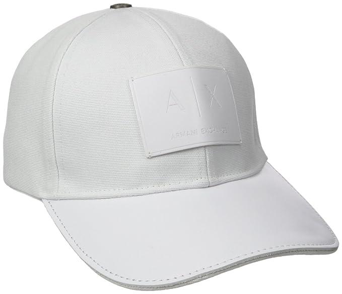 AX Armani Exchange - Gorro con Logotipo para Hombre daac9e6ba03