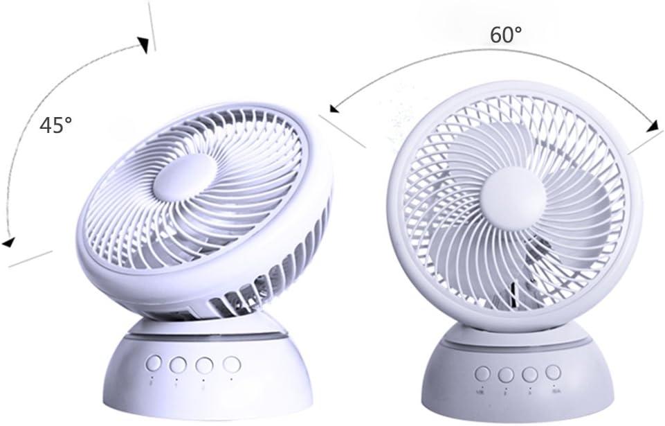 220V GH-Tower Fans YXGH@ Mini Desk Fan//USB Desk Fan//Student Dormitory Fan//Office Desktop Fan//Bed Desktop Mute Fan//Silent Childrens Fan//Rotary Fan Portable Lightweight Fan Cooling Appliances