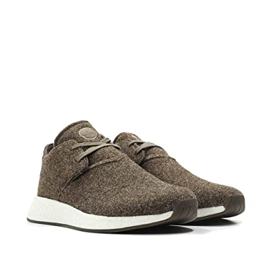 the latest 6bfd5 fb165 Amazon.com | adidas Mens Wings and Horns NMD C2 Chukka WH Brown Wool Size  12.5 | Athletic