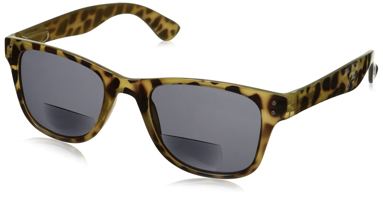 18e067a084a5 Amazon.com  Peepers Wayfarer Cabana Bifocal Retro Sunglasses