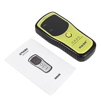Fdit Equipo de Detección de Formaldehído Portátil Monitor de Formaldehído Profesional de Detector de Calidad de Aire con Medidor de Calidad de Aire: ...