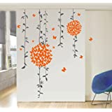 Decals Design 'Butterflies' Wall Sticker (PVC Vinyl, 50 cm x 70 cm)