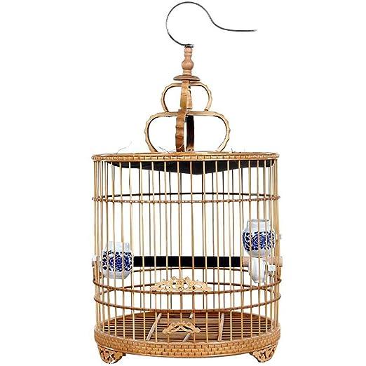 La jaula de pájaros de interior de Flying Cage puede colgar la ...