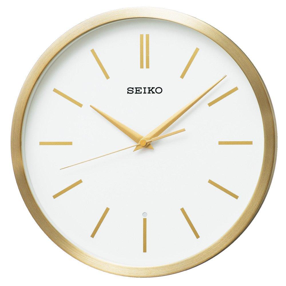 セイコー クロック 掛け時計 電波 アナログ 金色 ヘアライン KX226G SEIKO B074WVJK57 金色 ヘアライン 金色 ヘアライン