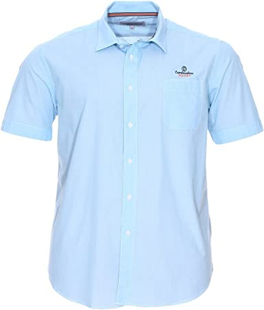 camberabero camisa para hombre (tamaño grande), color azul ...