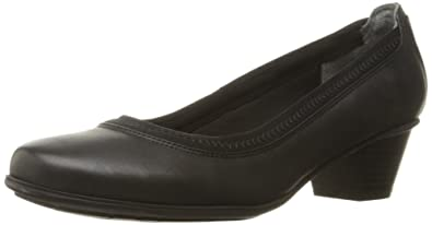 Rockport Women's Total Motion Amy Dress Pump, Black Nubuck, ...