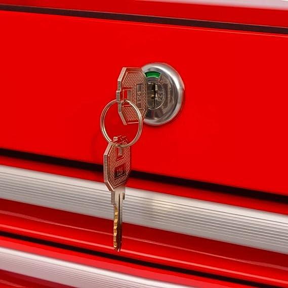 Werkstattwagen 14 Schubladen XXL Rollwagen Werkzeugwagen Werkzeugkiste