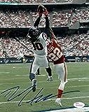 Deandre Hopkins Autographed Houston Texans 8x10 Photo (vs Giants) JSA