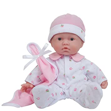 Amazon com jc toys la baby 11 inch washable soft body play doll for children 18 months or older designed by berenguer toys games