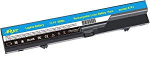 ARyee Battery for HP 620 HP ProBook 4520s 4525S 4425s 4420s 4320s Compaq 320 321 326 420 425 620 621 fits 593572-001 593573-001 PH06 PH09-18 Months Warranty Model:4741