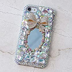 Genuine Crystals Protective iPhone Xs/X Case Cover