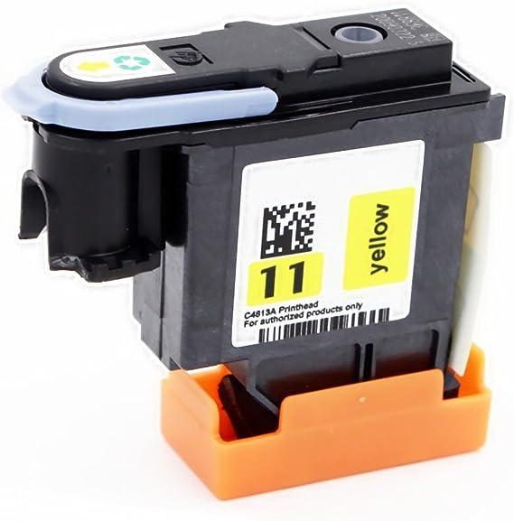 yatunink 1 color Pack para cabezal de impresión HP 11 C4813 A (amarillo) para Business Inkjet 2200se Business Inkjet 2200 x i Business Inkjet 2250 BUSINESS INKJET 2250tn: Amazon.es: Oficina y papelería