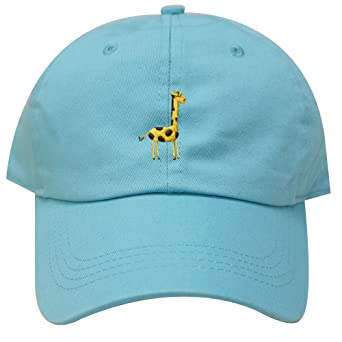06ae5b3ce93 City Hunter C104 Giraffe Cotton Baseball Dad Caps 16 Colors (Aqua)   Amazon.ca  Clothing   Accessories