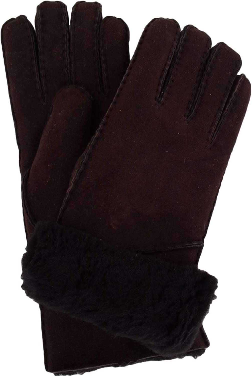 SNUGRUGS Vicky, Sheepskin Glove with Fold Back Cuff Guantes para Mujer