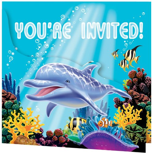 fish birthday invitations - 6