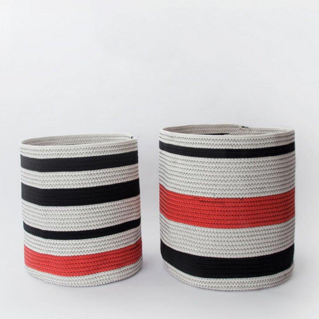 Aufbewahrungstaschen Xuan - Worth Another Baumwolle Thread Schmutzige Kleidung Korb Schmutzige Kleidung Korb Kampf Der Korb Kleidung Box Rattan Gras Sammlung (größe : Groß)
