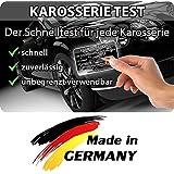 Grip carte magnétique - test de la carrosserie lors de l'achat d'une voiture, testeur de laque, testeur de spatule pour le contrôle de la carrosserie, testeur de laque de voiture
