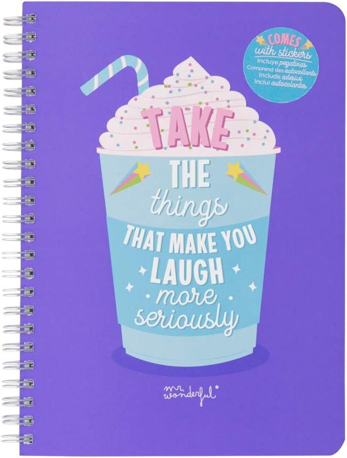 Take the things that make you laugh Libreta peque/ña A5