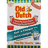 Old Dutch Salt & Vinegar Potato Chips 220g/7.76oz Box {Imported from Canada}