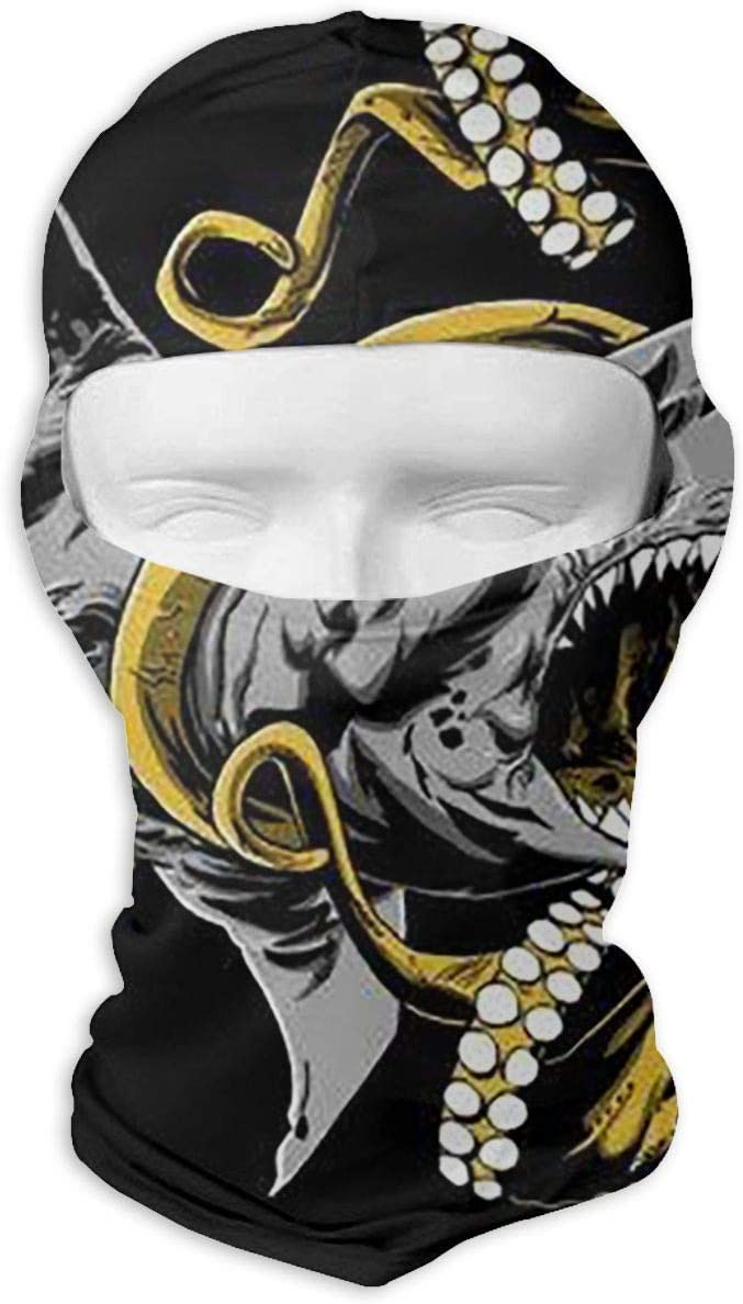 LaoJi Octopus Winter Ski Mask Balaclava Hood Wind-Resistant Face Mask