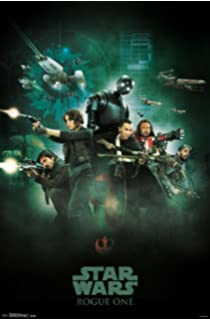 DROID POSTER STAR WARS ROGUE ONE 22x34 MOVIE 14098