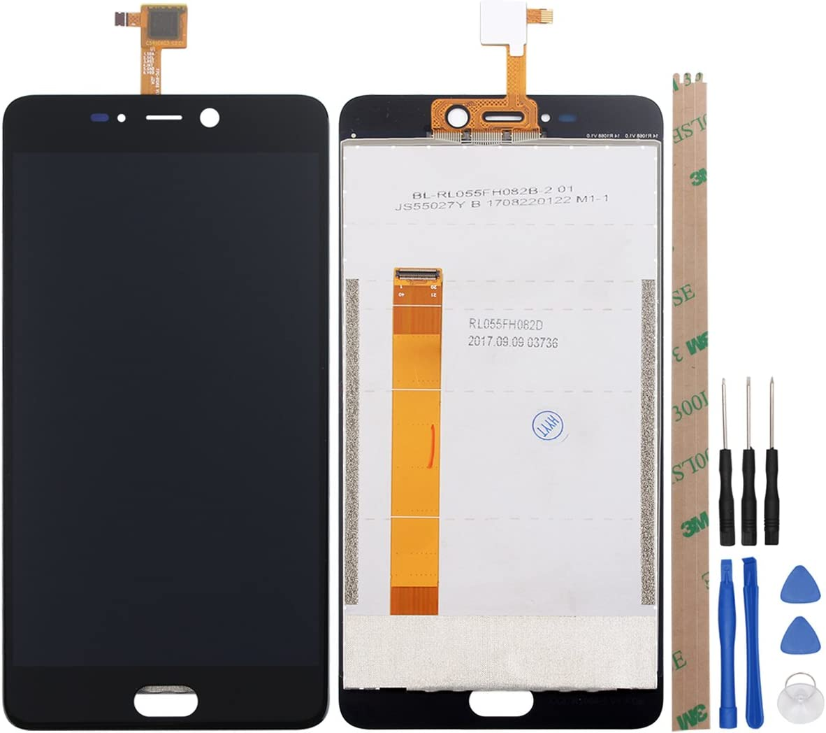 Ocolor LCD Display + Digitizador de pantalla táctil para LEAGOO T5 ...