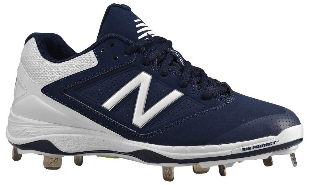 [ニューバランス] New Balance 4040v1 Metal Low レディース ベースボール [並行輸入品] B072J36THG US07.0|ネイビー/ホワイト ネイビー/ホワイト US07.0