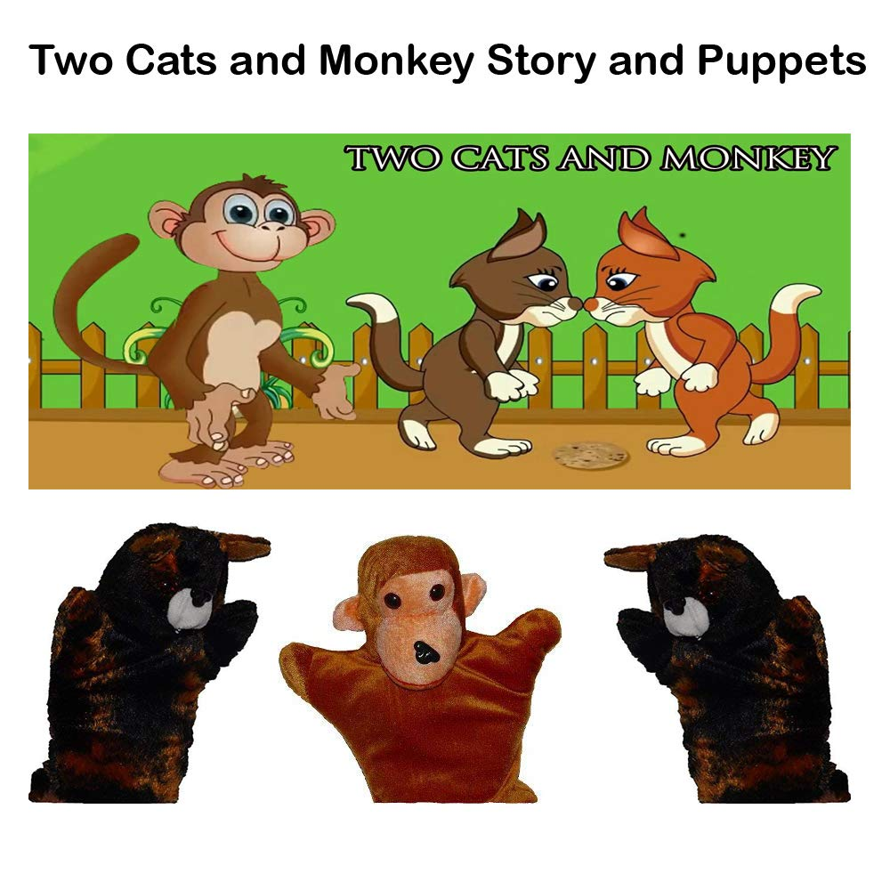 Buy Vinayaks Motivatonal -Moral Stories Puppets for Kids