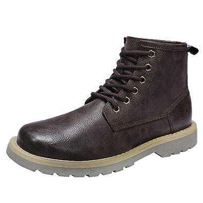 Heetey Mode Stiefel Herren Sommer und Herbst Stiefel Outdoor