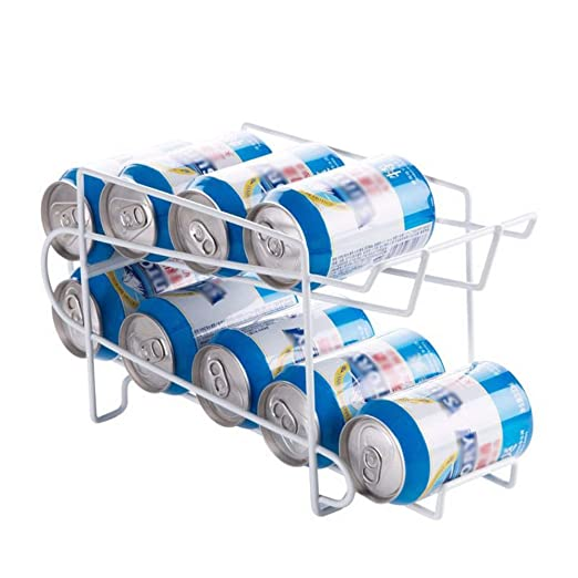 Organizador de latas de 2 capas, estante de almacenamiento de ...