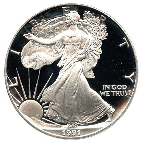 1991 S American Eagle Dollar PR69 PCGS