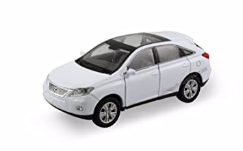 White Lexus Suv >> Amazon Com Welly Lexus Rx 350 Rx 450h Suv 1 40 Scale 4 75 Diecast