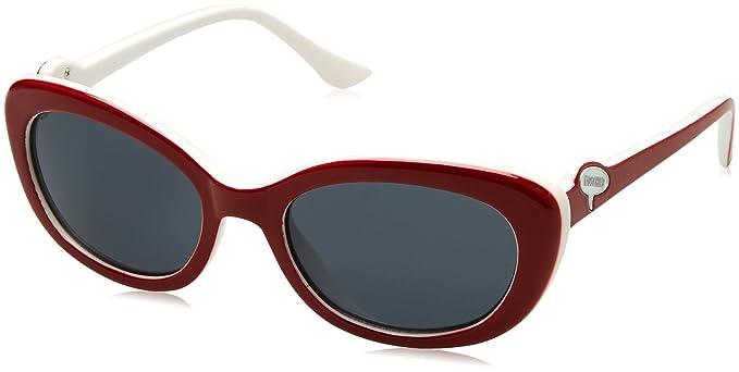 Moschino MO-6430-S, Gafas de Sol para Mujer, Rojo (Red/White ...