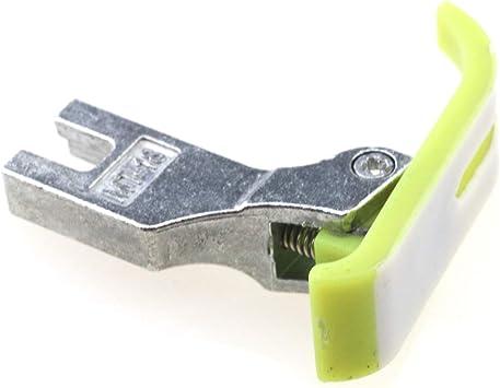 Teflon Prensatelas para Máquina de coser de cuero PVC MT18 para ...