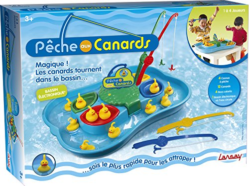Lansay - 74891 - Jeu D'exploration - La Pêche Aux Canards - 4 Joueurs