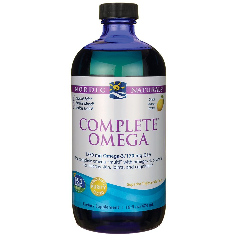 Nordic Naturals - Complete Omega, Supports Healthy Skin, Joints, and Cognition, 16 Ounces by Nordic Naturals (Image #1)