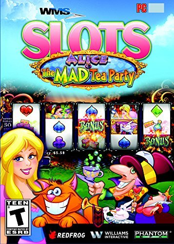 WMS Slots: Alice's Mad Tea Party [Download] (Alice And The Mad Tea Party Slot)