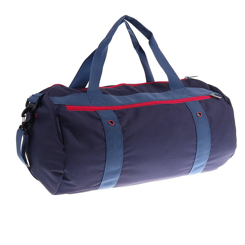 fityle Swimバッグ、防水ウェットとドライの水泳機器、水着、服分割ジムダッフルバッグ B0799PRWHJ  ネイビーブルー as described