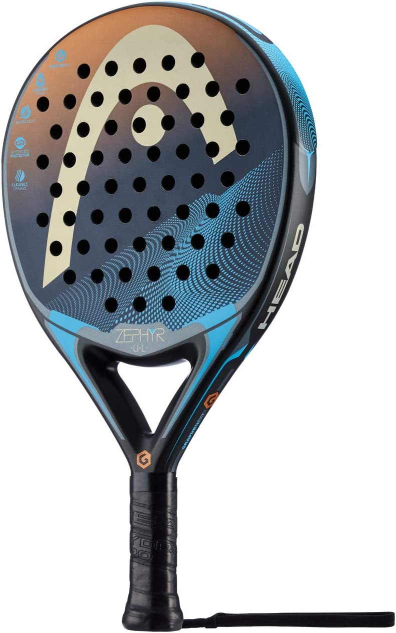 Head Graphene Touch Zephyr Ultra Light Pala de pádel de Tenis ...