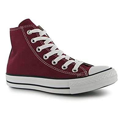 4c12303d8b1d Converse Mens All Stars Hi Top Mens Trainers Maroon 8.5(42)  Amazon.co.uk   Shoes   Bags