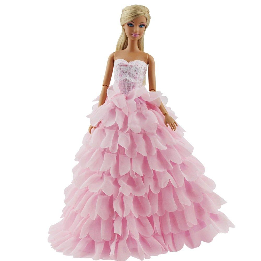 barbie prinzessin kleid