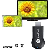FUSHITON 超小型  ドングルレシーバー iPush転送器  iOS、Android、 Windows、MAC OSシステム通用Wireless HDMIWiFiディスプレイ Airmirror、DLNA、Airplay、Miracast HDMIドングル レシーバー 720/1080P対応