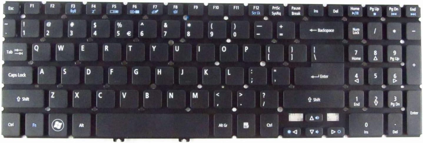 Lysee Replacement Keyboards - For Acer Aspire V5-531-4307 V5-531-4690 V5-531-4879 V5-531-4896 V5-531-4440 Laptop Keyboard