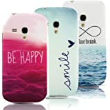 Vandot 3X Samsung Galaxy S3 Mini i8190 TPU Silicone Coque Etui Case Cover Housse Hull Unique Design Couleur Images Pictures-Cloud+Smile+Refuse