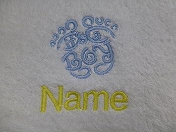 Toalla para la cara, toalla de mano, toalla de baño, baño (o) personalizado con es un ...