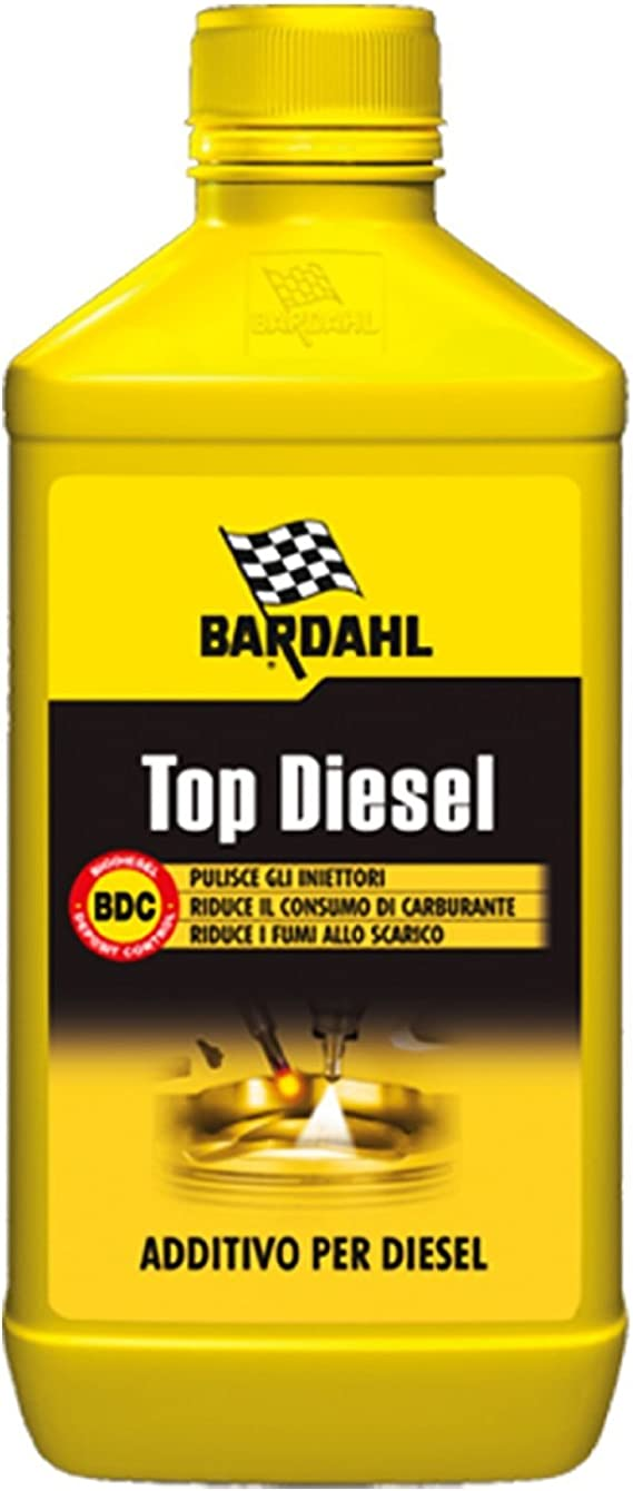 Bardahl Top Diesel Additivi Trattamento Per Motori Diesel Pulizia Pulitore Iniettori 1 Lt Auto