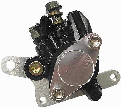 Rear Brake Caliper Compatible With Kawasaki Lakota 300 KEF300 1995-2003 Mojave 250 KSF250 1987-2004 Tecate 4 KXF 250 1987 1988 With Pads
