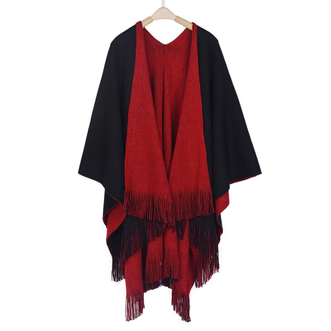 iHPH7 Cardigans Sweater Coat, Women Winter Knitted Cashmere Poncho Capes Shawl at Amazon Womens Clothing store: